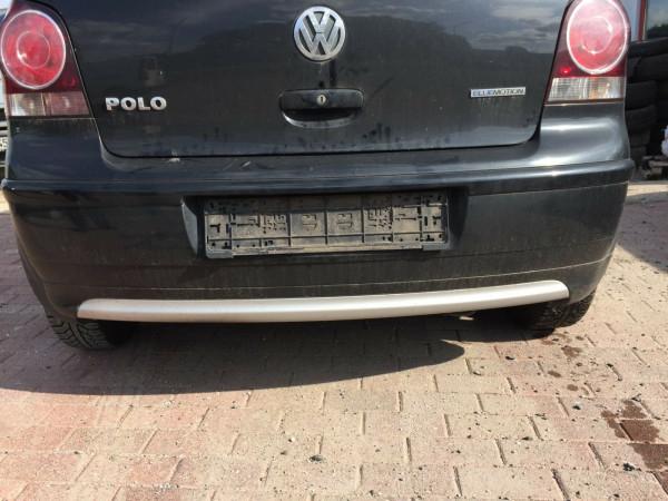 VW Polo 9N Facelift Bluemotion Stoßstange hinten in L041 Schwarz 3 Türig