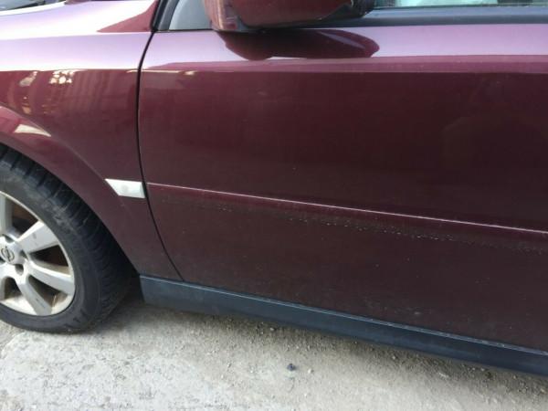 Opel Vectra C Limousine Stufenheck Tür vorne links komplett Rot Z594 Rubensrot