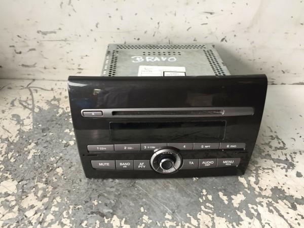 735451941 Radio CD Player Fiat Bravo II multijet 2007 Baujahr